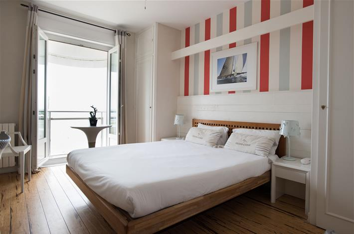 Chambre face mer h tel 3 toiles royan chambres vue for Chambres hote royan
